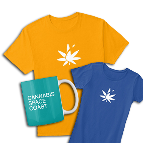 cannabis space coast shirt